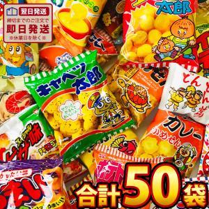 スナック菓子!駄菓子好き大集合!10種類50袋セット 送料無料