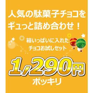 チョコ好き必見!溶けにくいチョコを集めた「人気駄菓子チョコお菓子お試し20点セット」 ゆうパケット便 メール便 送料無料|kamejiro|03