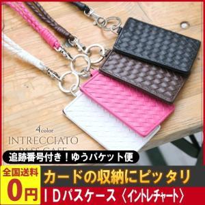 選べる4色!IDパスケース〈イントレチャート〉( 訳あり ポイント消化 在庫処分品 雑貨 ) ゆうパケット便 メール便 送料無料|kamejiro