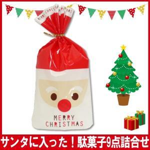 サンタに入った!クリスマス駄菓子詰合せ9点セット kamenosuke