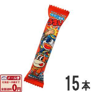 やおきん うまい棒 牛タン塩味(牛たん) 1本(6g)×15本 ゆうパケット便 メール便 送料無料|kamenosuke