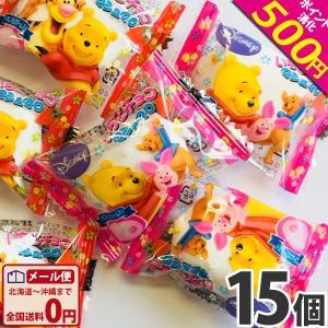 エイワ くまのプーさん イチゴチョコマシュマロ 15個 ゆうパケット便 メール便 送料無料|kamenosuke