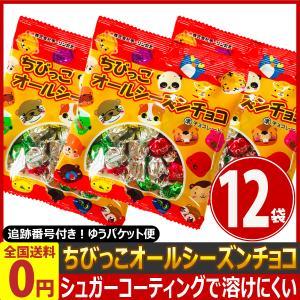 チーリン ちびっこオールシーズンチョコ 1袋(33g)×12袋 ゆうパケット便 メール便 送料無料 チョコレート ポイント消化 クリスマス 景品|kamenosuke