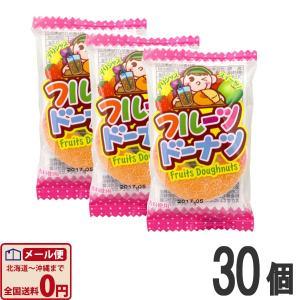 やおきん フルーツドーナツグミ 10g×30個  (お菓子 駄菓子) ゆうパケット便 メール便 送料無料|kamenosuke