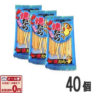 やおきん やいたら カニ味 4g×40個  (お菓子 駄菓子) ゆうパケット便 メール便 送料無料|kamenosuke