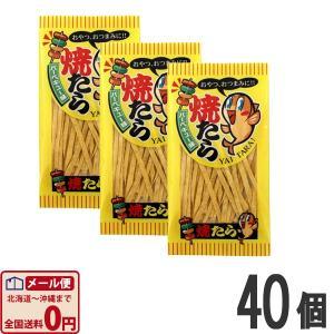 やおきん やいたら バーベキュー味 4g×40個  (お菓子 駄菓子) ゆうパケット便 メール便 送料無料|kamenosuke