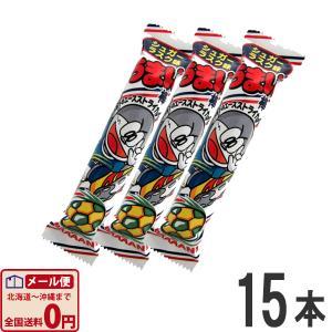 やおきん うまい棒 シュガーラスク味 1本(6g)×15本 ゆうパケット便 メール便 送料無料|kamenosuke