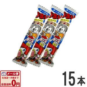 やおきん うまい棒 チーズ味 1本(6g)×15本 ゆうパケット便 メール便 送料無料|kamenosuke