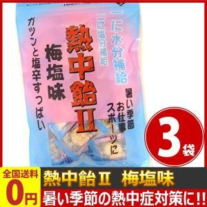 井関食品 一に水分補給!二に塩分補給!「熱中飴2」梅塩味 1袋(100g)(個装紙込み)×3袋 ゆうパケット便 メール便 送料無料|kamenosuke