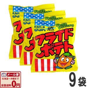 やおきん 菓道 フライドポテト 1袋(10g)×9袋 ゆうパケット便 メール便 送料無料|kamenosuke