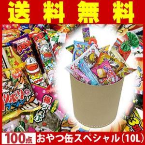 送料無料 ギフト!誕生日!贈り物に!!紙缶にたっぷり約100点詰め込みました!おやつ缶スペシャル(10L)|kamenosuke