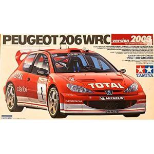 タミヤ 1/24 スポーツカーシリーズ プジョー206 WRC 2002|kameshop