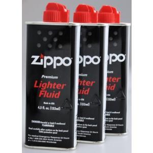 ZIPPO(ジッポー) Zippo オイル缶 【小缶133ml】 3本セット kameshop