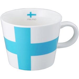 シュガーランド マグカップ 国旗柄 フィンランド 380cc 日本製 電子レンジ 食洗器 対応 11118-9 kameshop