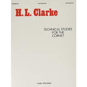 クラーク : 技術的練習曲 (トランペット教則本) カール・フィッシャー出版 kameshop