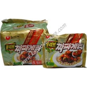 農心 チャパゲッティ(ジャジャン麺) 1パック(140g×5袋入り) kameshop