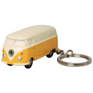 フォルクスワーゲン キーホルダー タイプ2 バス ライト付き イエロー VWT68144|kameshop