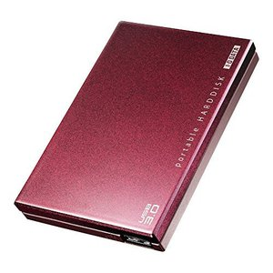 アイ・オー・データ機器 USB3.0/2.0ポータブルHDD超高速カクウスボルドー 500G HDPC-UT500BRE 【旧モデル】|kameshop