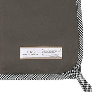 LIP3001 ケージ用マットカバーメディカル60サイズ (グレー×ギンガム) フェレット ベッド 消臭 抗菌 マット kameshop
