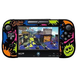 シリコンカバーコレクション for Wii U GamePadスプラトゥーン Type-B|kameshop