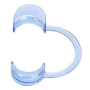 Syula 開口マウスオープナー 歯科 C型 ブルー歯科用 ゲーム用 パーティー用20個セット (S) kameshop