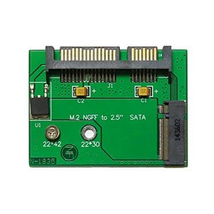 M.2(NGFF 2230/2242) SSD → ハーフスリム Half-Slim SATA SSD 変換アダプタ kameshop