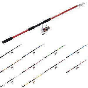 釣り初心者やファミリーフィッシングに最適!! 釣り竿・糸付きリールセット サビキセット360|kameya-ec1