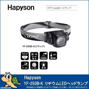 Hapyson/ハピソン YF-250B-K リチウムLEDヘッドランプ ブラック kameya-ec1