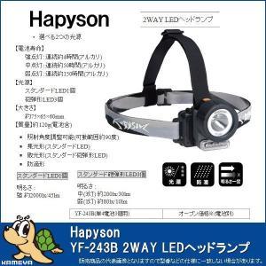Hapyson/ハピソン YF-243B 2WAY LEDヘッドランプ kameya-ec1
