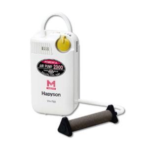 Hapyson/ハピソン YH-750 乾電池式エアーポンプ マーカー機能付