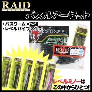 レイドジャパン RAID JAPAN レベルミノー バスルアーセット!|kameya-ec1