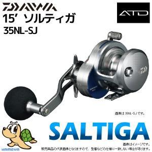 15'DAIWA ダイワ SALTIGA BAITCASTING MODEL ソルティガ ベイトキャスティングモデル 35NL-SJ (G2)|kameya-ec1