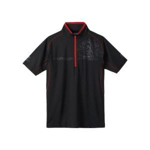 テラヘルツ人工鉱石プリントを施すことで放熱・遮熱効果が得られる薄手のDRY長袖シャツです。着用時から...