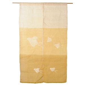 のれん 暖簾 おしゃれ 和風 ロング 麻 夏用 のれん 90×150cm 千鳥 絞り|kameya