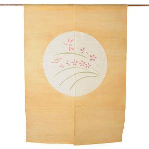 のれん 暖簾 おしゃれ 和風 ロング 麻 夏用 のれん 90×120cm トンボ|kameya