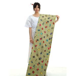 浴衣 ゆかた 反物 レディース 女物 盆踊り 祭り ユカタ 踊り浴衣 柳茶 フルーツづくし|kameya