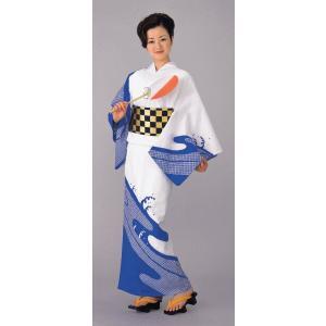 浴衣 ゆかた 反物 レディース メンズ 盆踊り 祭り ユカタ 踊り 絵羽浴衣 疋田 流水|kameya