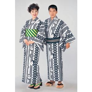 浴衣 ゆかた レディース メンズ 盆踊り 祭り ユカタ 踊り イベント レトロ浴衣 おかめ ひょっとこ kameya