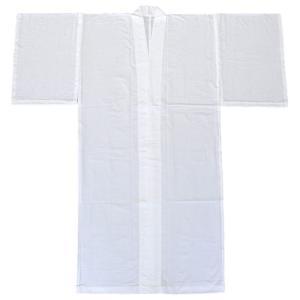 長襦袢 和装下着 男性 メンズ 夏用 綿絽 洗える長襦袢 白|kameya