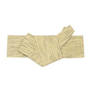 角帯 貝の口 軽装仕立 メンズ角帯 男物 ワンタッチ 半纏 帯 浴衣 着物 ポリ ベージュ 雨縞 nsd-4195|kameya