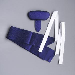 袴用帯枕 軽装帯 2点セット メンズ レディース 袴台 簡易帯 踊り はかま台 和装小物 紺|kameya
