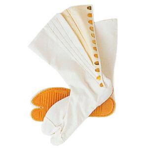 足袋 祭り たび 祭足袋 ロング 地下足袋 祭り足袋 白 12枚鞐 まつり 祭り用品 zm-e-1120|kameya