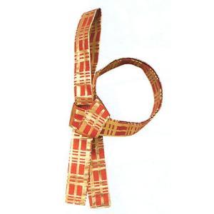 鉢巻 祭り はちまき 祭鉢巻 太鼓 よさこい 踊り 祭り用品 まつり鉢巻 金襴 赤 格子|kameya