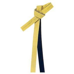 鉢巻 祭り はちまき 祭鉢巻 細帯 太鼓 よさこい 踊り 祭り用品 リバーシブル カラー鉢巻 黄 黒|kameya