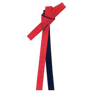 鉢巻 祭り はちまき 祭鉢巻 細帯 太鼓 よさこい 踊り 祭り用品 リバーシブル カラー鉢巻 赤 黒|kameya