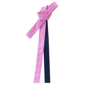 鉢巻 祭り はちまき 祭鉢巻 細帯 太鼓 よさこい 踊り 祭り用品 リバーシブル カラー鉢巻 ピンク 黒|kameya