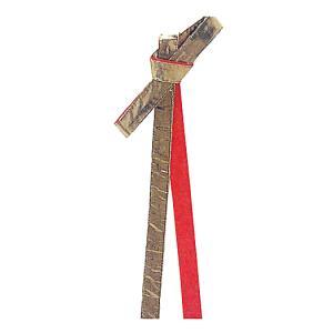 鉢巻 祭り はちまき 祭鉢巻 細帯 太鼓 よさこい 踊り 祭り用品 リバーシブル 金襴鉢巻 赤|kameya