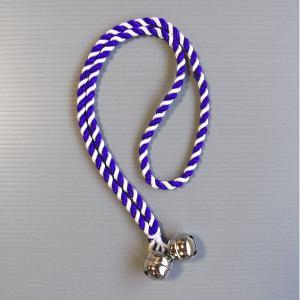 大人用鈴(紫紐) お祭り鈴 鳴り物入り? 祭り用品 まつり小道具|kameya
