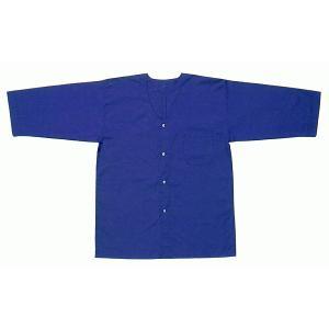 ダボシャツ 祭り メンズ レディース 鯉口シャツ 紺青 混紡 真夏用 踊り 祭り用品|kameya