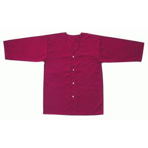 ダボシャツ 祭り メンズ レディース 鯉口シャツ エンジ 混紡 盛夏用 踊り 祭り用品|kameya